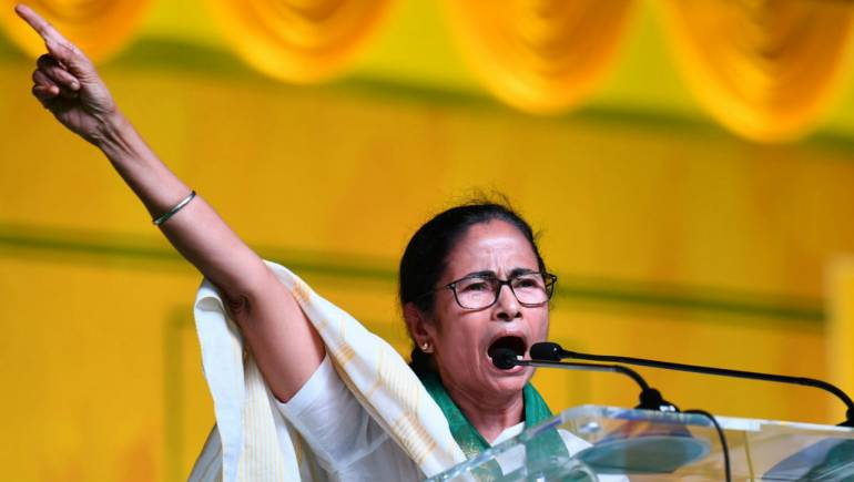 Mamata Banerjee says, Human rights have been totally violated in   Kashmir