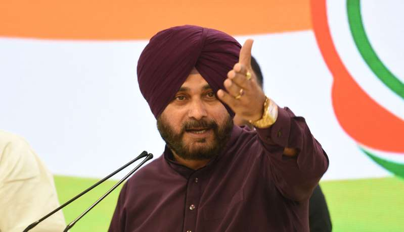 EC issues notice to Sidhu for