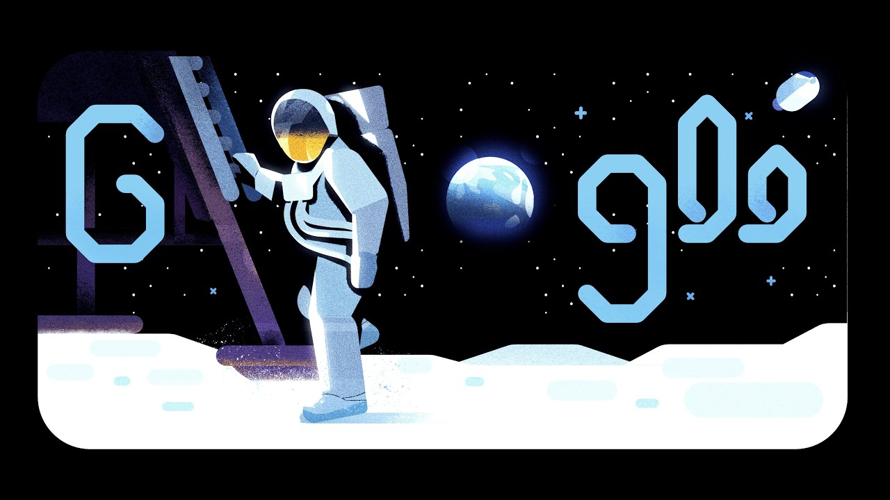 Google doodle celebrates 50 years of NASA