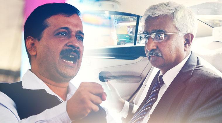 AAP vs Delhi Chief Secretary: Delhi Cops raid CM Arvind Kejriwal