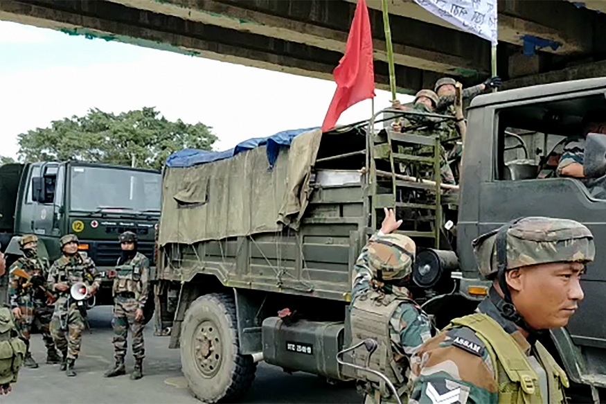armydeployedinguwahatiafterstudentproteststurnviolent