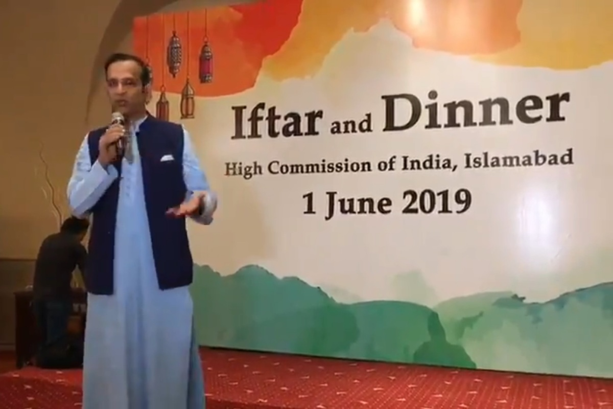 India lodges strong protest to Pak for intimidating guests at Iftar party