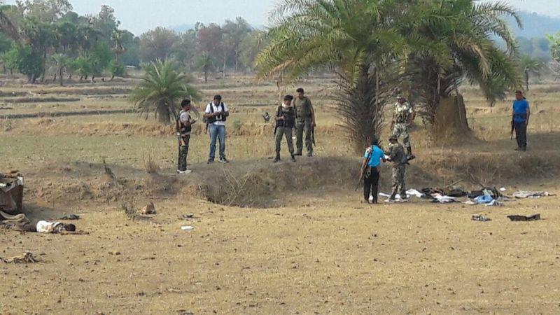 2 CRPF personnel injured in blast by Naxals in Chhattisgarh