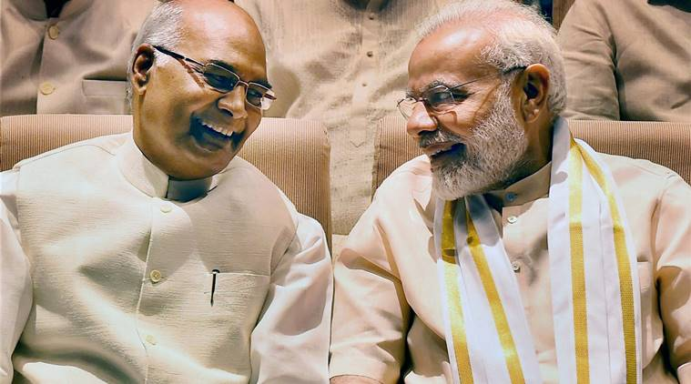 pmmodicongratulateskovindforbecoming14thpresidentofindia