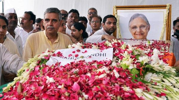 Delhi bids adieu to Sheila Dikshit