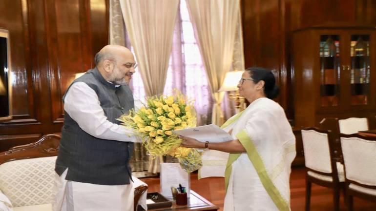 At meeting with Amit Shah, Mamata raises Assam NRC issue