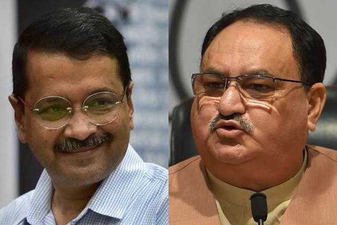 Arvind Kejriwal must tell Delhi why is he supporting those who want to break India: Nadda