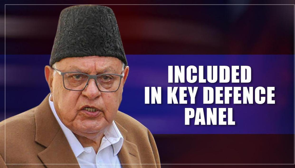 Detained under PSA, Farooq Abdullah nominated on key defence panel