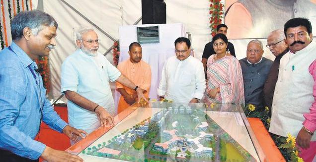 Centre, UP govt sign MoU to set up AIIMS in Gorakhpur