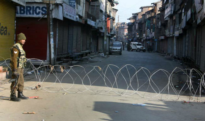 Restrictions imposed in Kashmir Valley