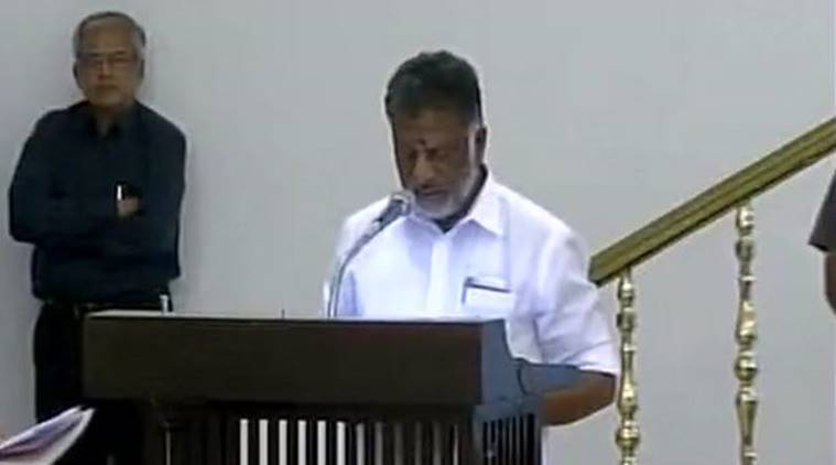 O Panneersalvam sworn in as new Chief Minister of Tamil Nadu