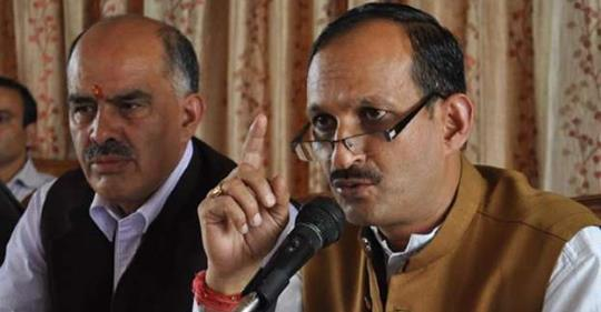 Second EC notice to Himachal's BJPchief Satti for remarks against Rahul, Priyanka