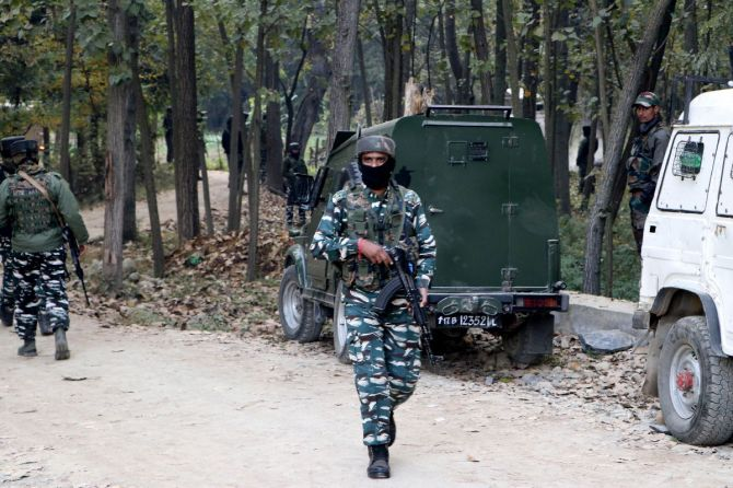 Four militants killed in separate encounters in J-K
