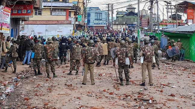 Curfew imposed in parts of Shillong relaxed for 12 hours
