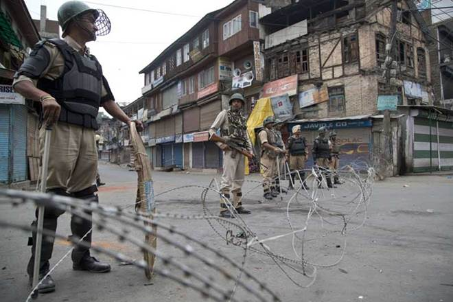 Restrictions imposed in Kashmir
