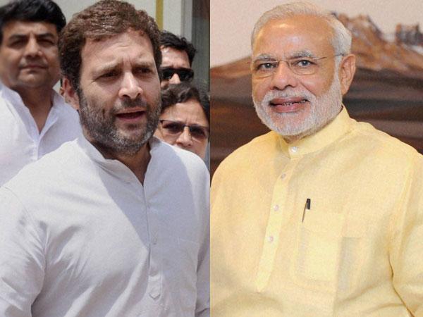 Modi wishes Rahul Gandhi on his birthday
