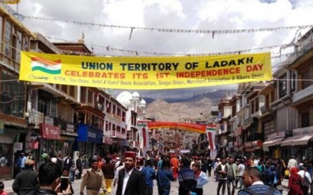 Ladakh celebrates first anniversary of becoming UT