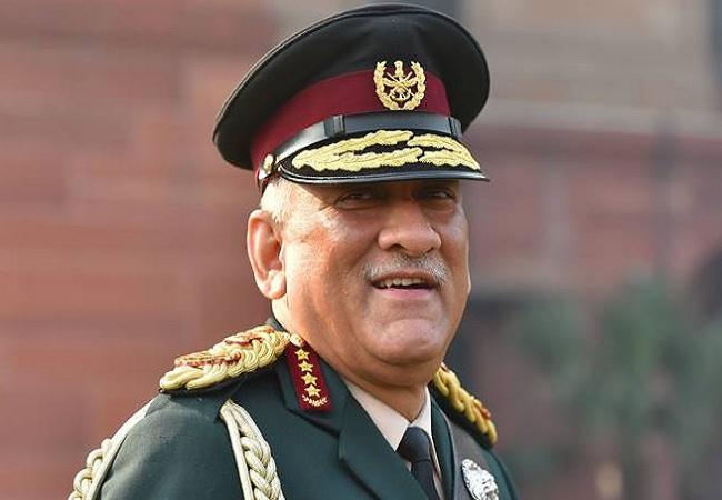 CDS Gen Bipin Rawat to visit Leh today