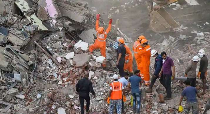 Three people killed in building collapse incident in Vadodara, Gujarat