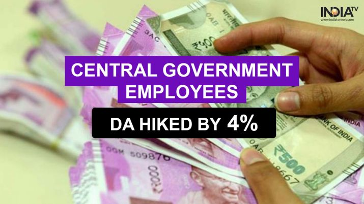 goodnewsforcentralgovernmentemployees!unioncabinetapproves4percentdaincrease