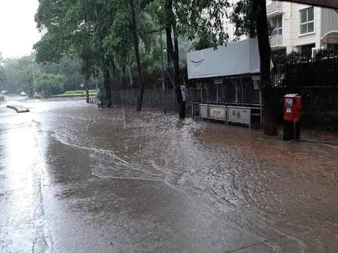Rainfall shows a gradual decrease in Mumbai