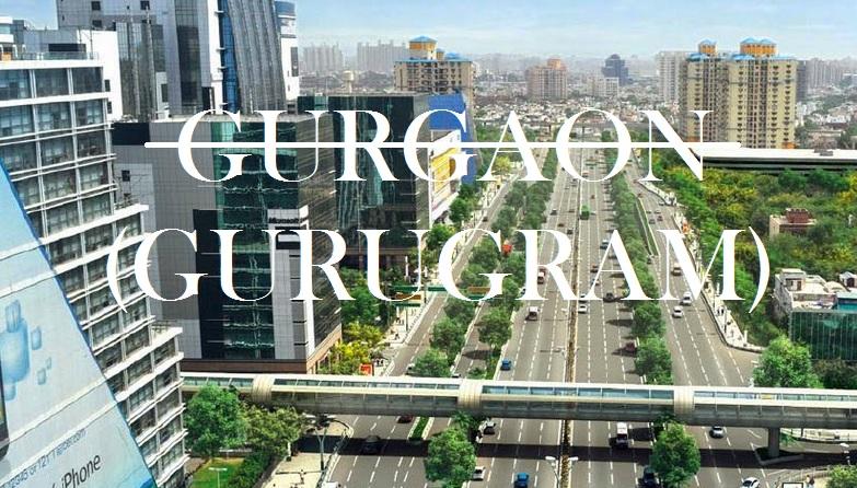 Haryana govt decides to rename Gurgaon as Gurugram