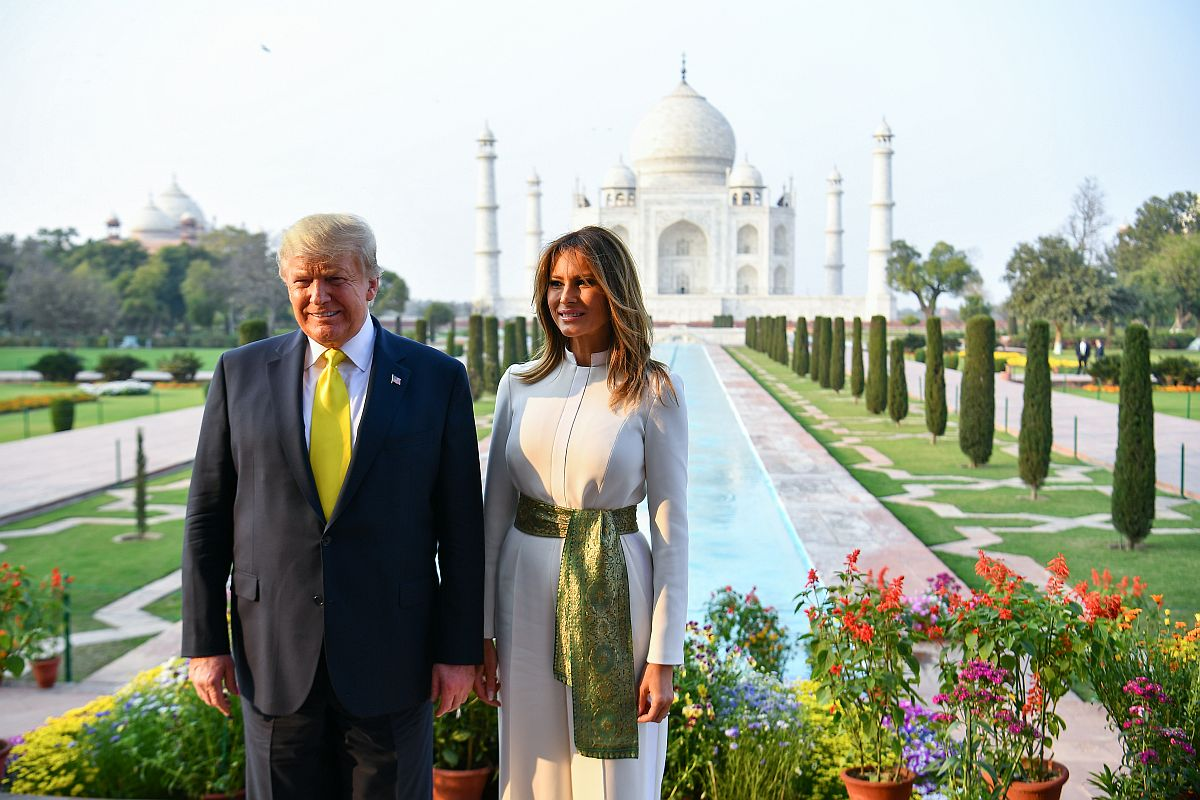 America loves, respects India: Trump tweets in Hindi as he visits Taj Mahal