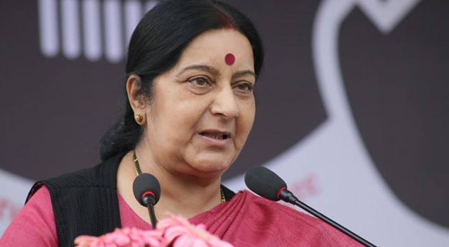 Sushma to take up Masood issue with China