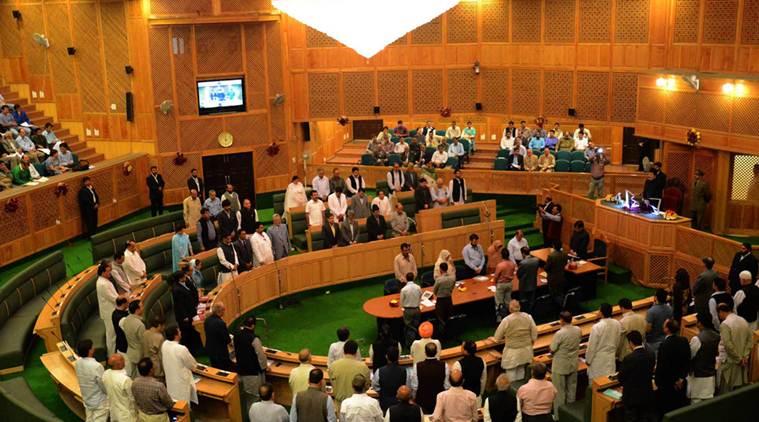 Opposition boycotts council proceedings in Jammu & Kashmir
