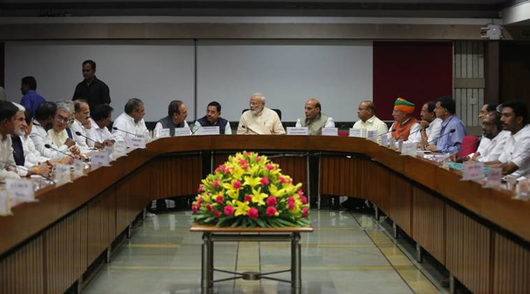PM Modi calls on political parties to work cohesively with govt in running Parliament smoothly