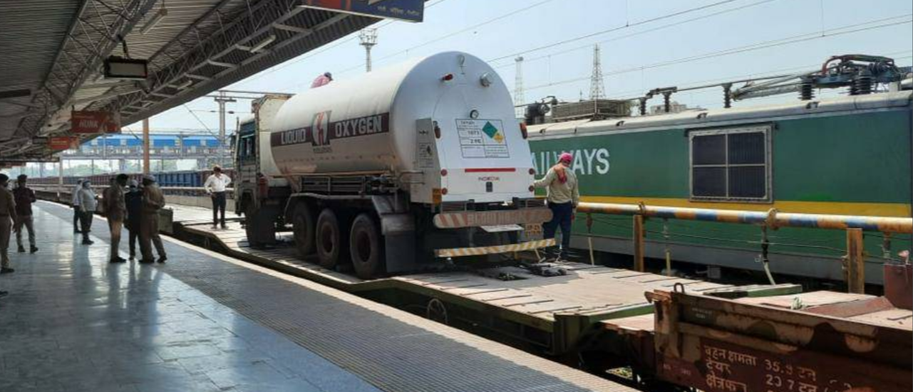 Nearly 4,200 tonnes of Liquid Medical Oxygen delivered by Railways so far across country