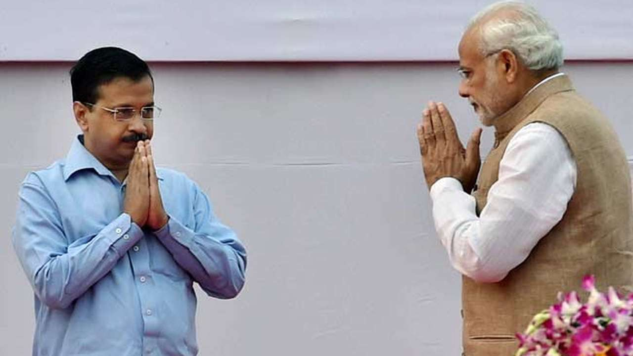 Arvind Kejriwal meets PM, invites him to visit