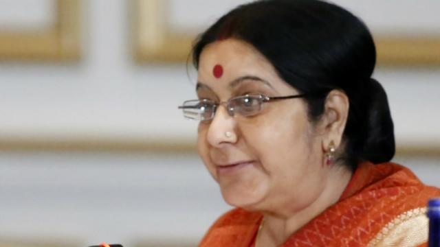 Sushma Swaraj being treated for pneumonia in AIIMS