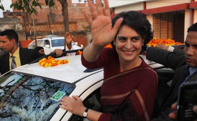 Priyanka attens UP Congress meeting
