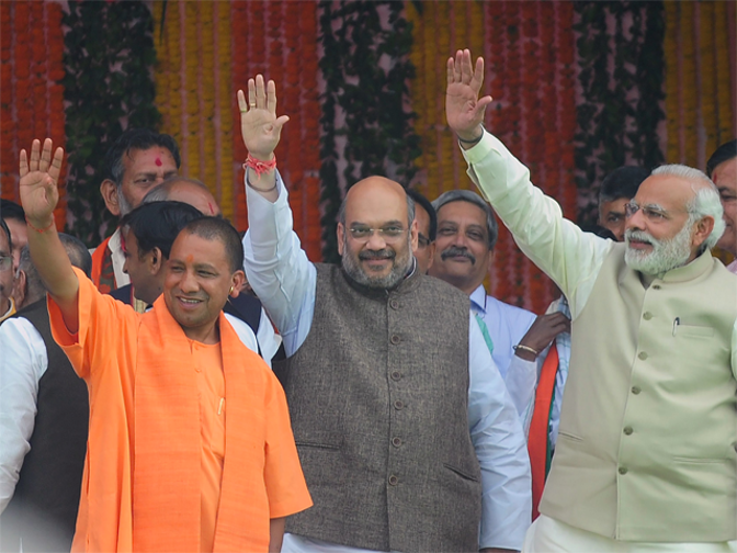 UP chief minister Yogi Adityanath to Gujarat campaign for the party Assembly Elections.