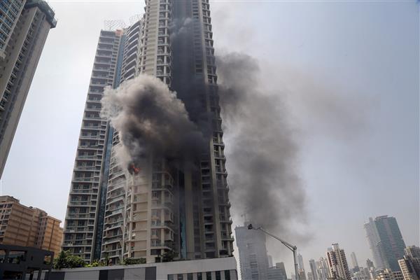 Cops register FIR in Mumbai residential building blaze