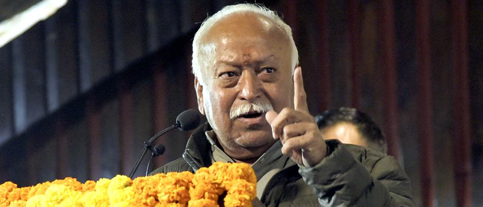 RSS chief Mohan Bhagwat calls Mahatma Gandhi
