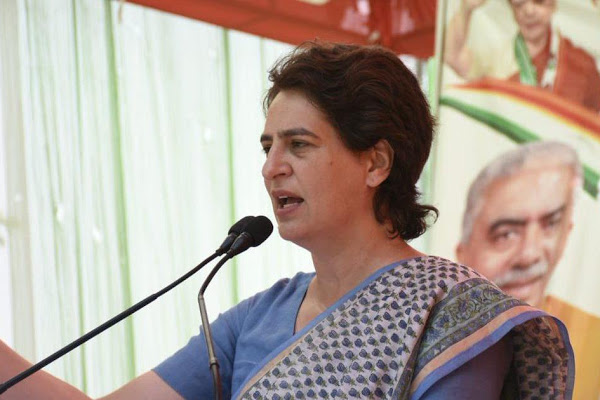 Remove politics of divisiveness, negativity: Priyanka Gandhi Vadra to UP voters