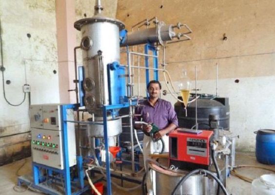 Biodiesel from chicken waste,Kerala vet doc gets patent after waiting more than seven years.