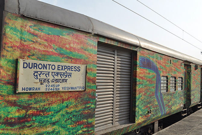 Toilet water used for making soup in Duronto Express