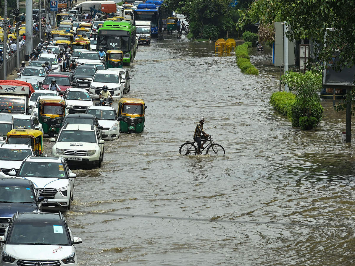 Heavy rains lash Delhi-NCR since last night