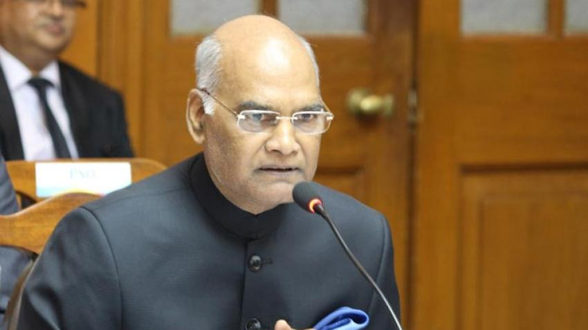 President Kovind addresses Parliament, bats for 'one nation one election', ban on triple talaq