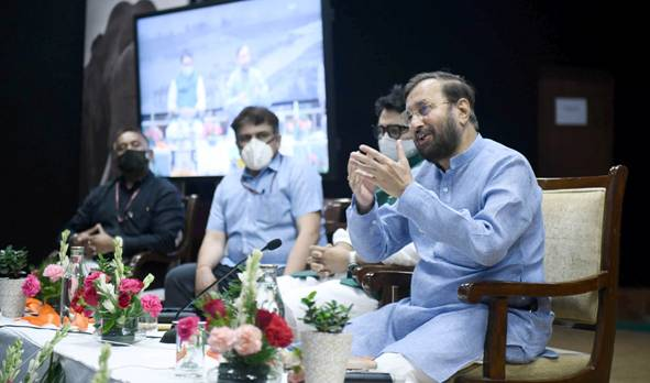 Union Minister Prakash Javadekar launches portal on Human Elephant Conflict on World Elephant Day