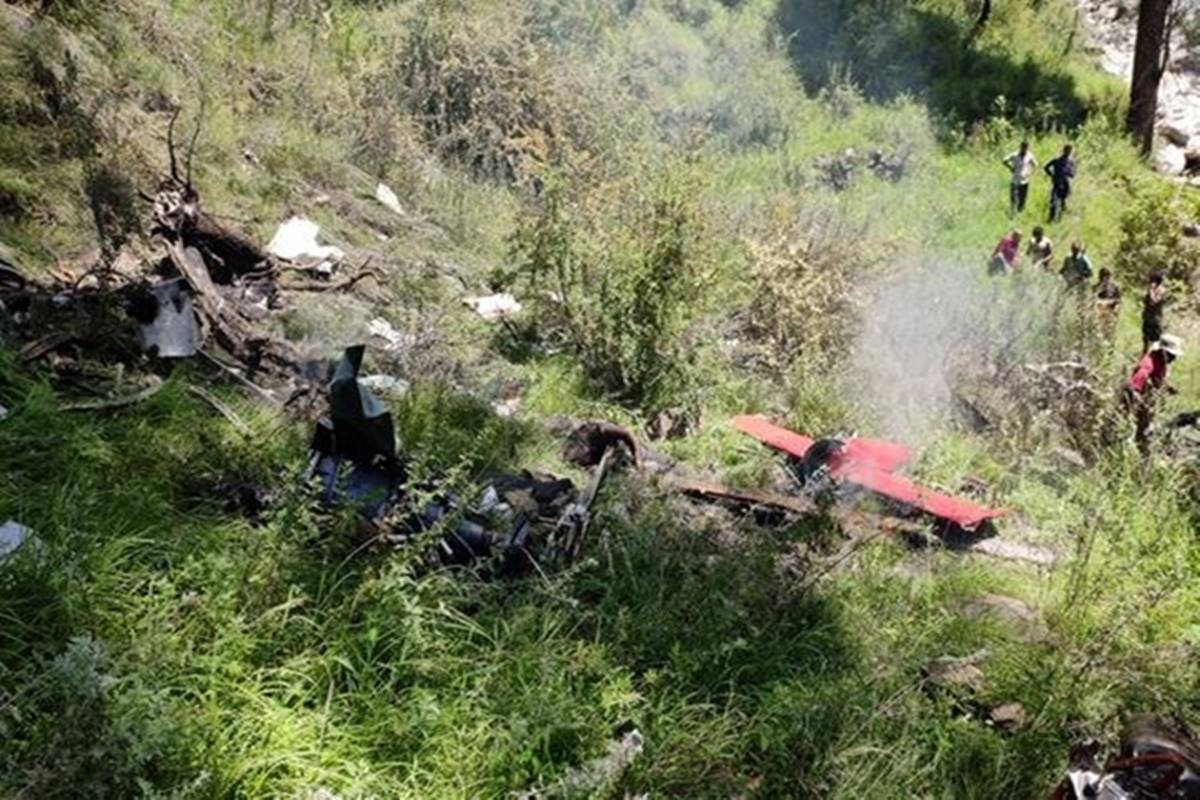 Three killed as helicopter crashes in rain-hit Uttarkashi
