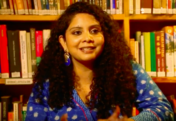 Police complaint against Rana Ayyub for posting 'Delhi violence' clip