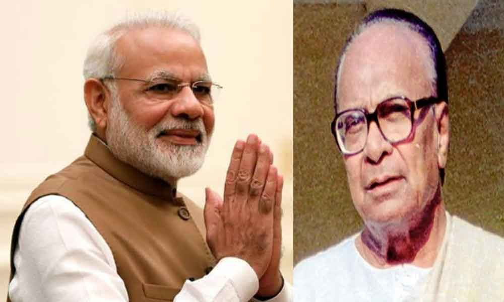 PM pays tributes to Biju Patnaik on birth anniversary
