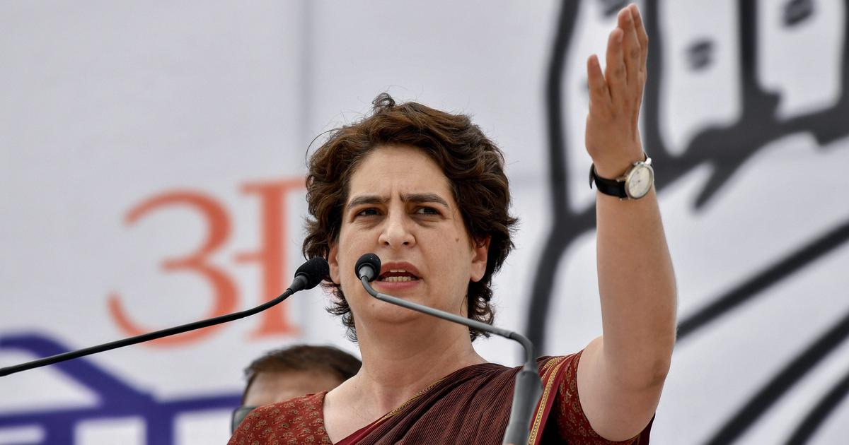Priyanka Gandhi attacks Centre after arrest of J&K leaders, asks Modi if India is still a democracy