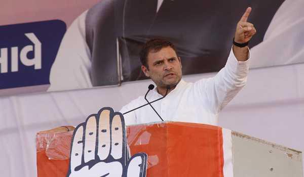 Rahul Gandhi calls NYAY scheme a