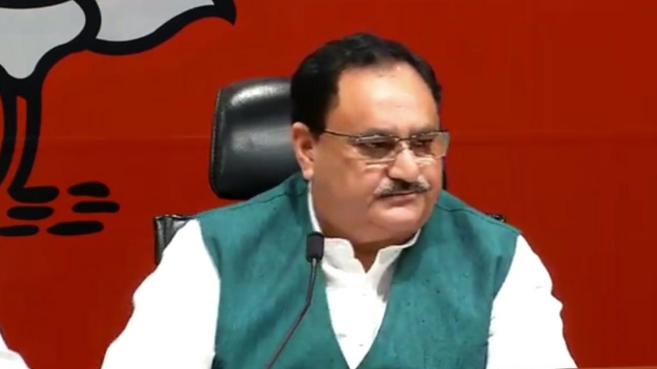 Nadda pulls up Pragya Singh Thakur for her toilet remarks