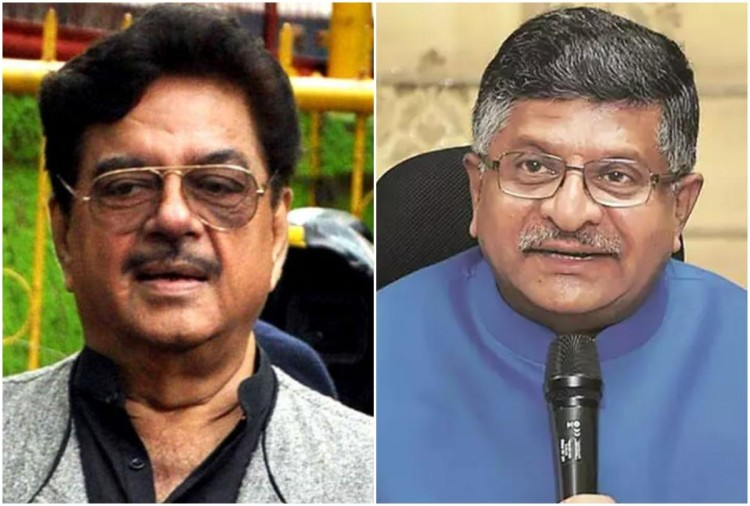 Shatrughan Sinha, Ravi Shankar Prasad slug it out in Patna Sahib